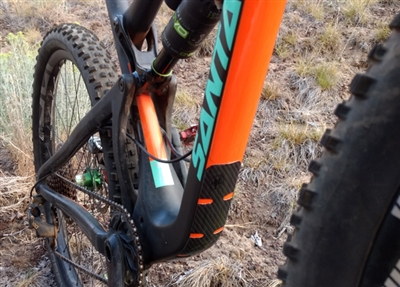 MTB Complete Frame Protector Kit Stealth