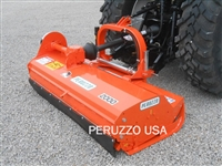 "Orange Peruzzo Bull 2400 96"" Flail Mower"