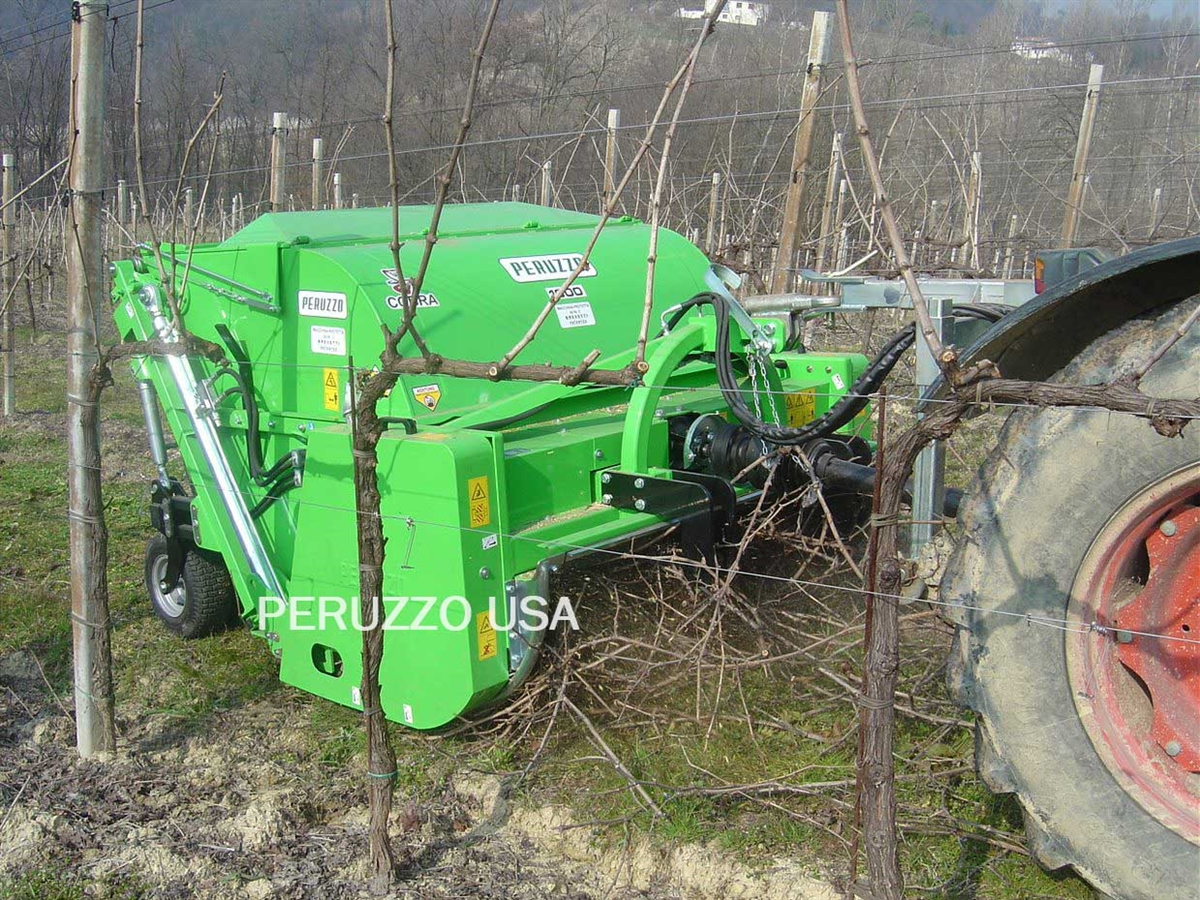 "Peruzzo Cobra 60"" Pruning Shredder, Flail Collection Mower"