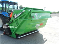 "Peruzzo 2000 79"" Flail Mower and Collector Hopper"