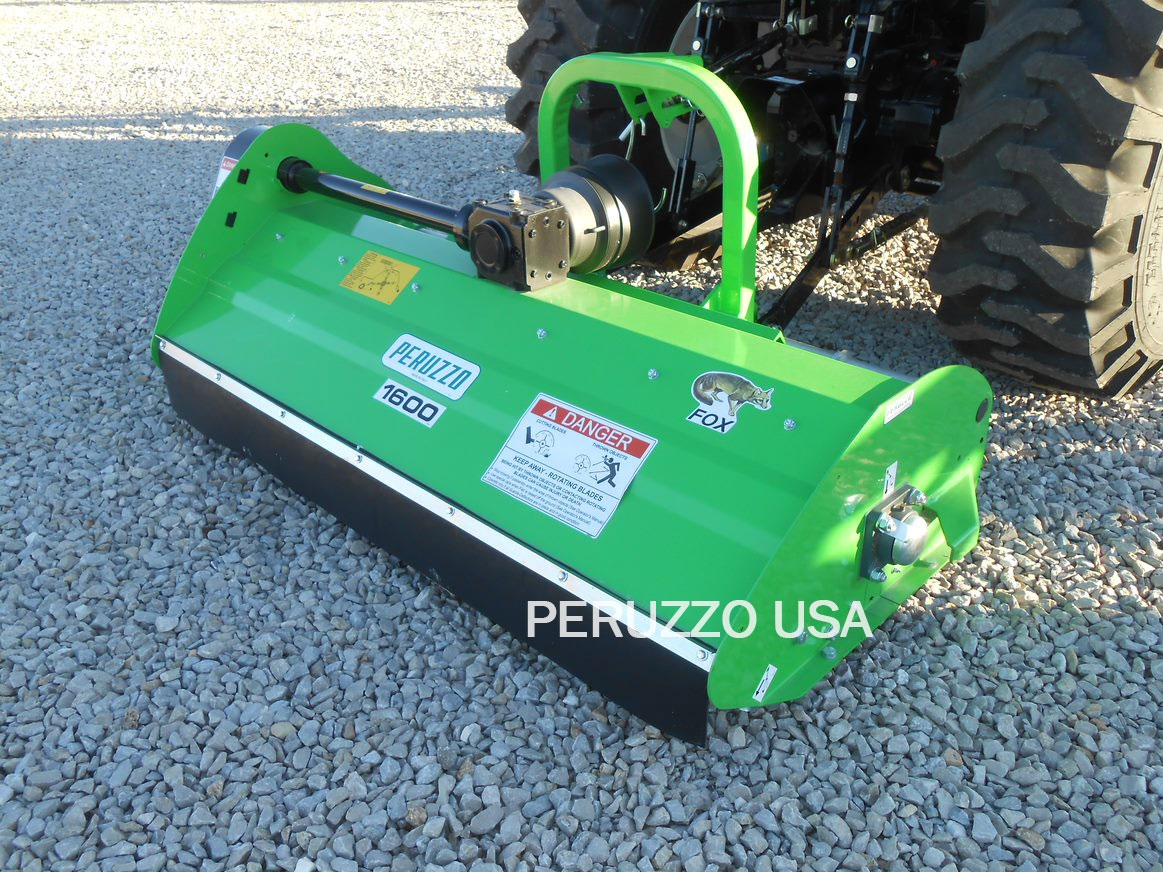 "Peruzzo 60"" Offset Flail Mower, 20-30HP Tractors"