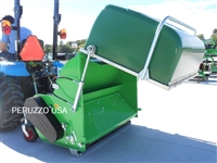 Koala 1600 Collector Flail Mower w/Hopper