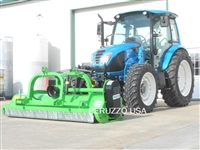 LS 8101 Tractor W/Bull 2400 Flail Mower