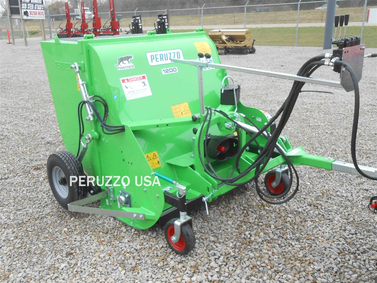 Peruzzo Panther 1600 Collection Flail & Shredding Mower