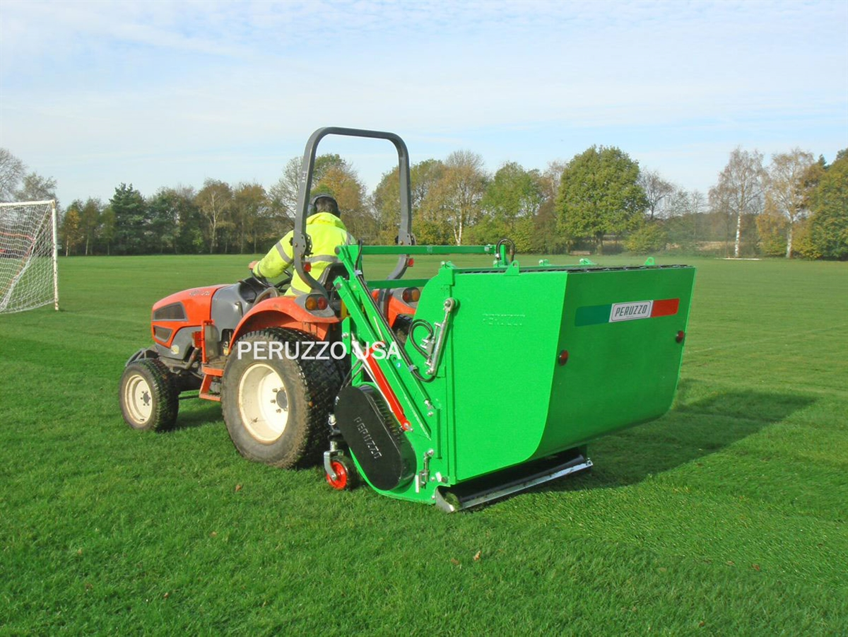 "Panther 1600 60"" Flail Mower with Collector Hopper"