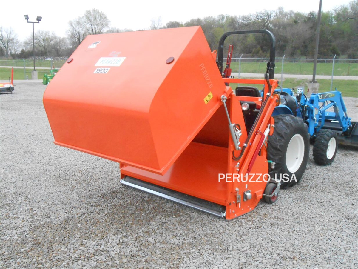 Peruzzo Panther 1600PRO Orange Flail Collection Mower