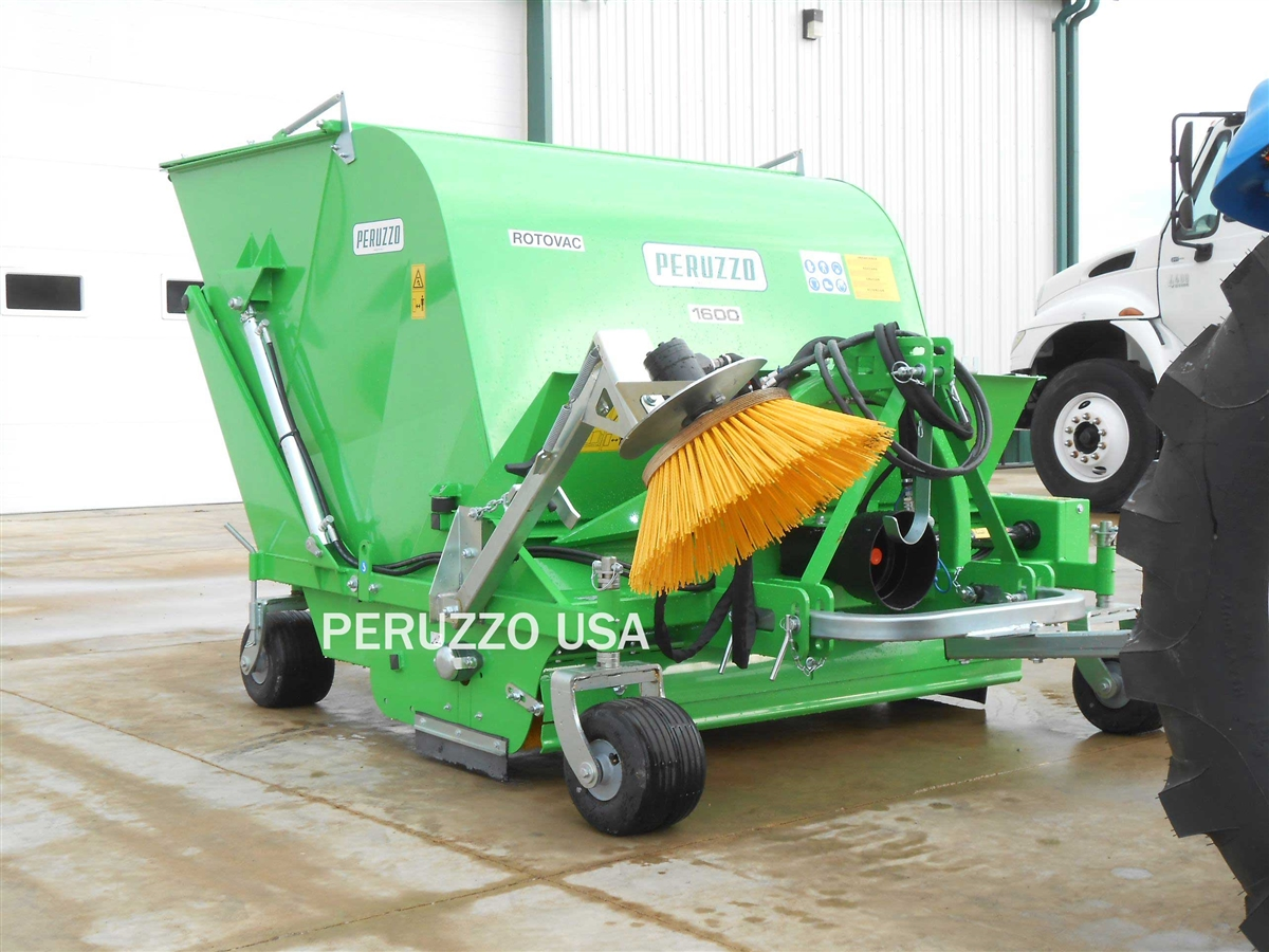 "Peruzzo 60"" PTO Powered Collection Sweeper"