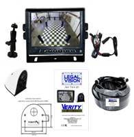 LV5EP: Complete Legal Vision 5-inch LCD Rear Vision System