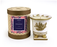 Citronelle Classic Toile Petite Ceramic Candle (Case of 6)