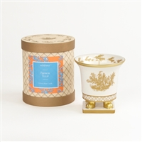 French Tulip Classic Toile Petite Ceramic Candle (Case of 6)