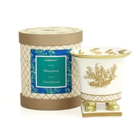 Hyacinth Classic Toile Petite Ceramic Candle (Case of 6)