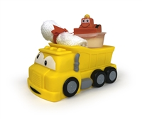 Clearly Fun Bath Pals Gift Dump Truck, sold in 2's