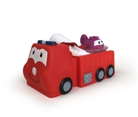 Clearly Fun Bath Pals Gift Fire Truck, sold in 2's