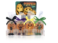 Clearly Fun Pumpkin Soap Collection - 12 soaps + display