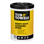 Tub O'Towels TW90-STK Heavy Duty Cleaning Wipes