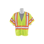 ERB Class 3 Mesh 5-Point Breakaway Lime Safety Vest