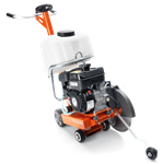 "Husqvarna FS309 14"" Walkbehind Saw with 9 HP Robin Engine"