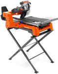 "Husqvarna TS60 10"" Tile Saw with Soft Start Motor Stand & Blade"