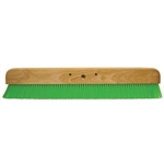"Kraft 36"" Green Nylex Soft Finish Broom Head"