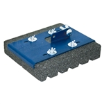 "Kraft 8"" x 7"" Rub Brick Mop Head - 20 Grit"