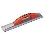 "Kraft 16"" x 3-1/4"" Square End Magnesium Hand Float with ProForm® Handle"