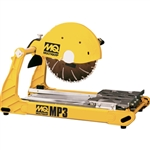 "Multiquip MP3 14"" Masonry Saw with 2.5 HP Motor"