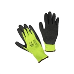 ERB Hi Viz Lime Coated Palm Work Gloves