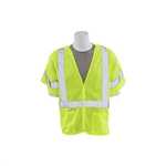 ERB Class 3 Mesh Lime Safety Vest