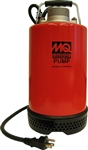 "Multiquip ST2037 2"" Submersible Centrifugal Pump with 1 HP Motor"