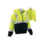ERB 3-in-1 Lime/Black Bomber Jacket