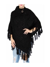 WHOLESALE FASHION SCARF AO695BK