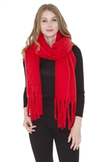 WHOLESALE FASHION SCARF JS1285 RED