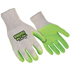Ringers Gloves 055, R-5LD Cut Level 5 Latex Green Dip Glove