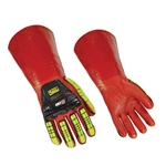 Ringers Gloves 075, Impact Chemical Full PVC