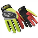 Ringers Gloves 138, R-13 Authentic Glove Hi-Vis