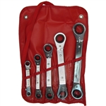 Wilde Tool 806-VR, Wilde Tools- 5 Piece Offset Ratchet Box Wrench Set Manufactured & Assembled in U.S.A.<br />