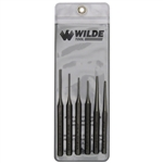 Wilde Tool G 6.NP-VP, Wilde Tools- 6 Piece Gunsmith Punch Set Manufactured & Assembled in Hiawatha, Kansas U.S.A.<br>