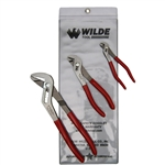Wilde Tool G256PSP.NP-VP, Wilde Tools- 3-Piece Vinyl Pouch Pliers Set Manufactured & Assembled in Hiawatha, Kansas U.S.A.<br />