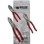 Wilde Tool G258PSP.NP-VP, Wilde Tools- 3-Piece Vinyl Pouch Pliers Set Manufactured & Assembled in Hiawatha, Kansas U.S.A.<br />