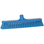Vikan 3179, Vikan Broom- Medium This fully color-coded medium-bristled floor broom is great for sweeping fine particles