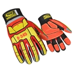Ringers Gloves 345, 345 Rescue Glove (Red)