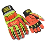 Ringers Gloves 347, 347 Rescue Glove (Hi Viz)