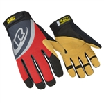 Ringers Gloves 355, 355 Rope Rescue Glove (Red)