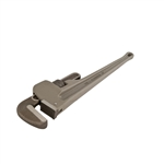 "Wilton 38224, 24"" Aluminum Pipe Wrench Wilton Aluminum Pipe Wrenches are made from lightlyweight, yet durable aluminum. Both top and bottom jaws are drop forged, all backed by Wilton's lifetime warranty., Each"