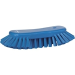 Vikan 3892, Vikan Hand Scrub Brush- Angled, Stiff This large hand scrub brush with flared bristles enables you to clean tables, chopping boards, buckets, large bowls and other equipment.