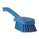 Vikan 4190, Vikan Short-handled hand brush soft bristles This fully color-coded, short-handled, wash brush has a comfortable grip allowing you to work for long periods of time without hand fatigue.