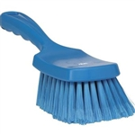 Vikan 4193, Vikan Soft/Split Bristles Short Handled Hand Brush The split bristles on this brush are particularly effective for washing very sensitive areas such as glass and acrylic material.
