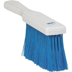 Vikan 4558, Vikan Resin Set Bench Brush- Soft The bristles on this short-handled bench brush are resin set and secured without stainless steel staples.