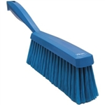 Vikan 4587, Vikan EDGE Bench Brush- Soft This is a dusting brush with a smooth, ergonomically designed handle.
