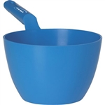 Vikan 5680, Vikan Large Dipping Bowl This full color-coded bowl scoop is great for measuring and scooping liquids. The neck joint is very robust and can withstand the weight of the filled scoop.